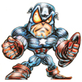 CAPTAIN AMERICA READY TO RUMBLE