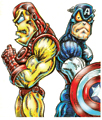 CAPTAIN AMERICA AND IRON MAN TALES OF SUSPENSE