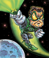 GREEN LANTERN IN SPACE