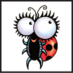 buggers cute bugs insect art