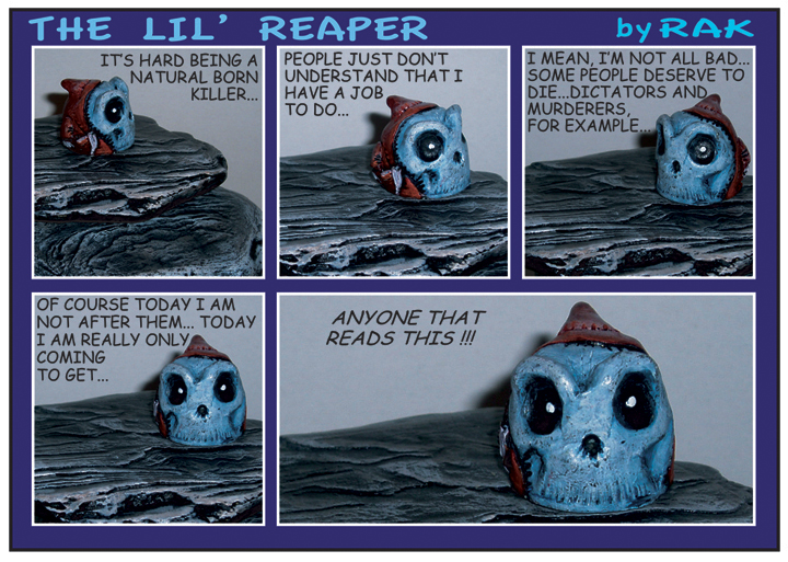 reaper comic strip